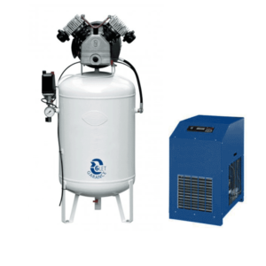 ACO-8 Air compressor with microfiltration 8m3/hour