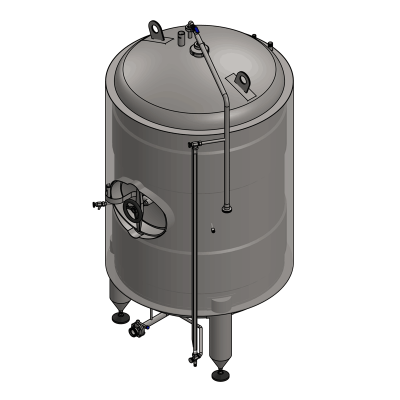 MBTVI : Cylindrical fermentors for the secondary fermentation (maturation) - vertical, insulated