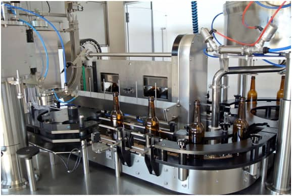 BFA MB1200 02 - BFL-MB1200 Automatic bottle filling line - up to 1200 bph