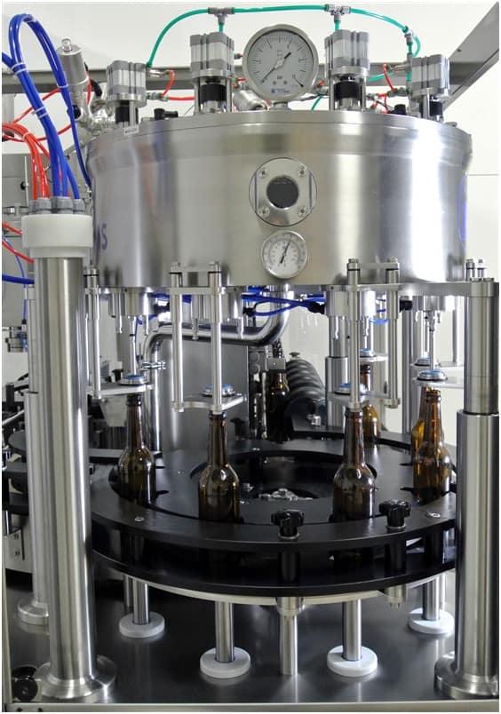 BFA MB1200 bottle filling module - BFL-MB1200 Automatic bottle filling line - up to 1200 bph - bfl