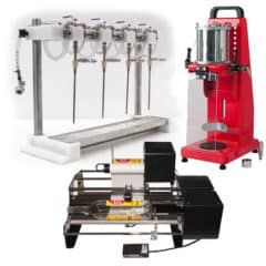 BFMP-500FCL Set for manual filling beverages into bottles,  capping and labelling bottles
