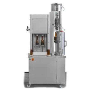 BFSA-MB221 Poloautomatický stroj na oplachování, plnění a uzavírání lahví 2-2-1