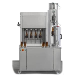 BFSA-MB441 Semi-automatic 4-4-1 rinsing, filling and capping machine for bottles