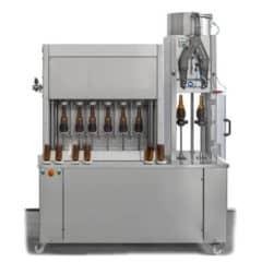 BFSA-MB662 Półautomatyczny 6-6-2 Płukanie, napełnianie i zamykanie butelek