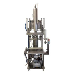 BFSA4-250 Semi-automatic machine to rinsing, filling and capping of bottles : 150-250pcs per hour