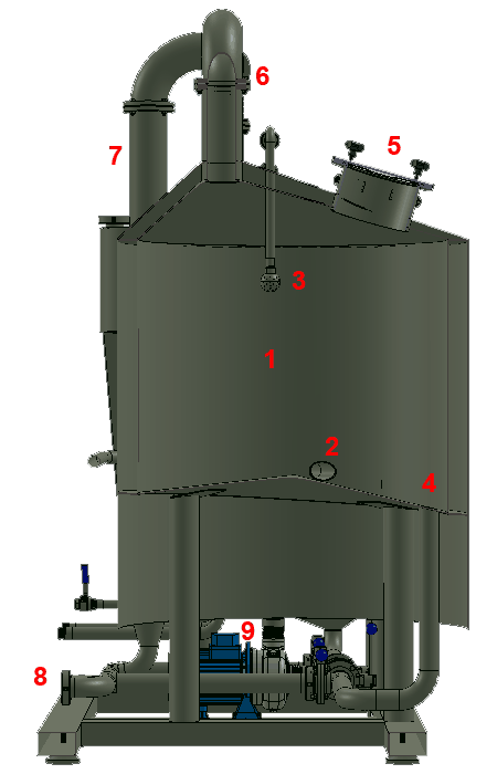 BH BWLE 300 450x700 09 whirlpool - BREWORX LITE-ECO 600 : Wort brew machine