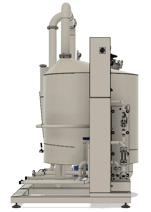 BH BWLE 600 500X700 03 levy bokorys - BREWORX LITE-ECO 600 : Wort brew machine