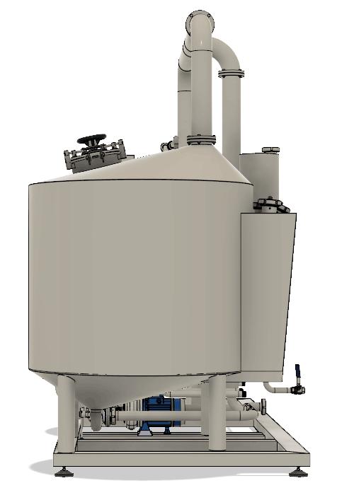 BH BWLE 600 500X700 04 pravy bokorys - BREWORX LITE-ECO 600 : Wort brew machine