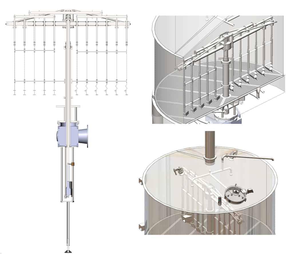 BH BWOP 6000 lautering tank 01 - BREWORX OPPIDUM 6000 : Wort brew machine - the brewhouse