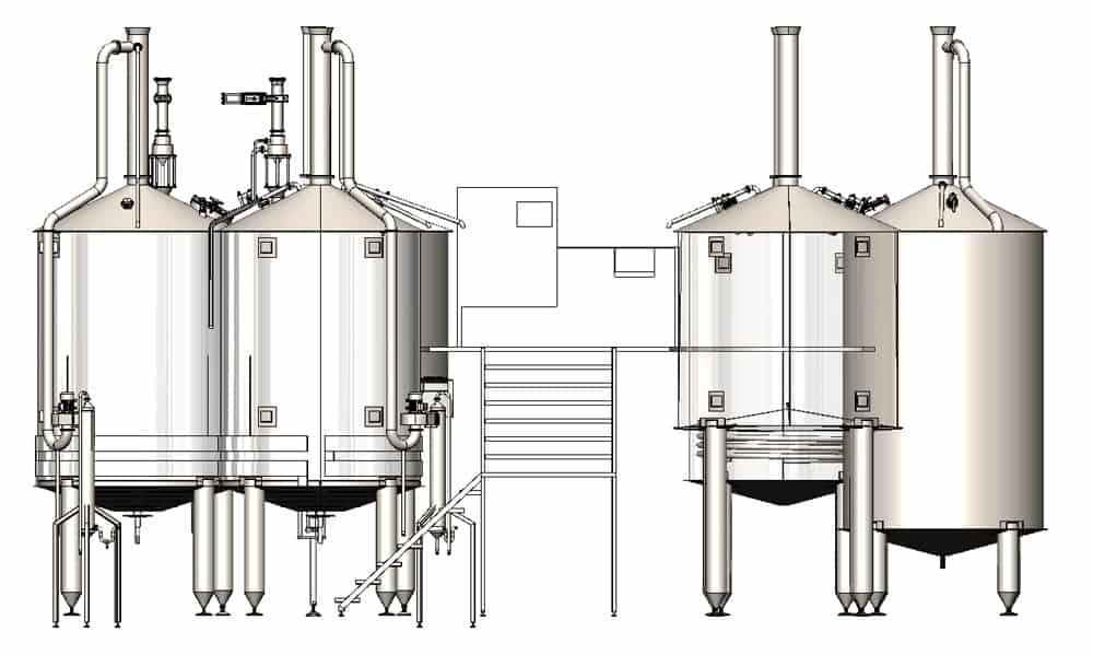 BH BWOP 6000 view001 - BREWORX OPPIDUM 6000 : Wort brew machine - the brewhouse
