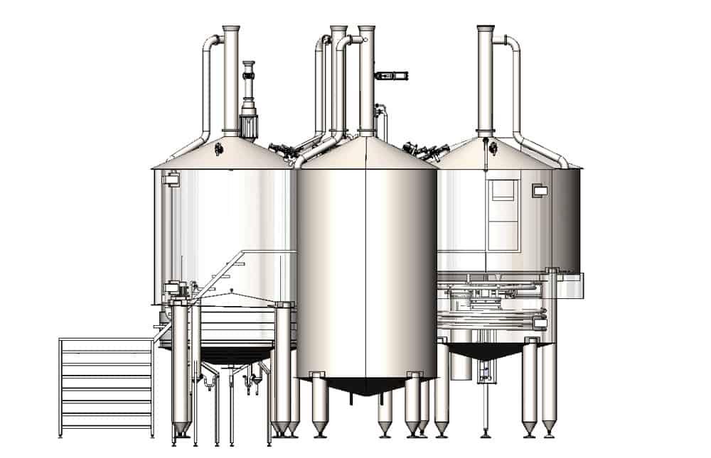 BH BWOP 6000 view002 - BREWORX OPPIDUM 6000 : Wort brew machine - the brewhouse