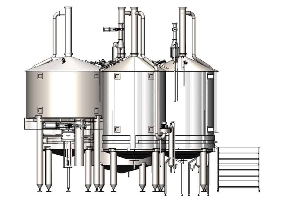 BH BWOP 6000 view003 - BREWORX OPPIDUM 6000 : Wort brew machine - the brewhouse