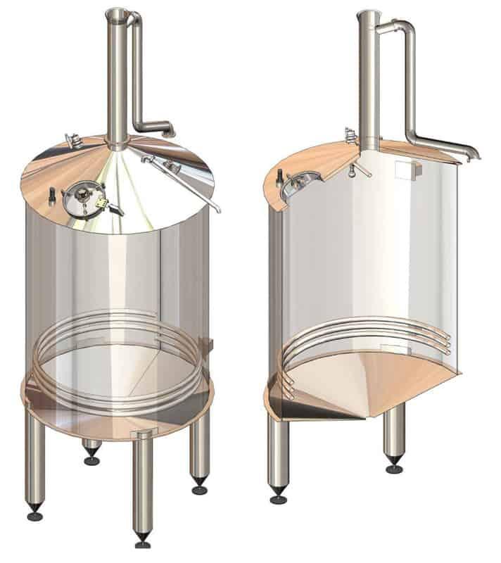 BH BWOP 6000 wort collector 01 - BREWORX OPPIDUM 6000 : Wort brew machine - the brewhouse