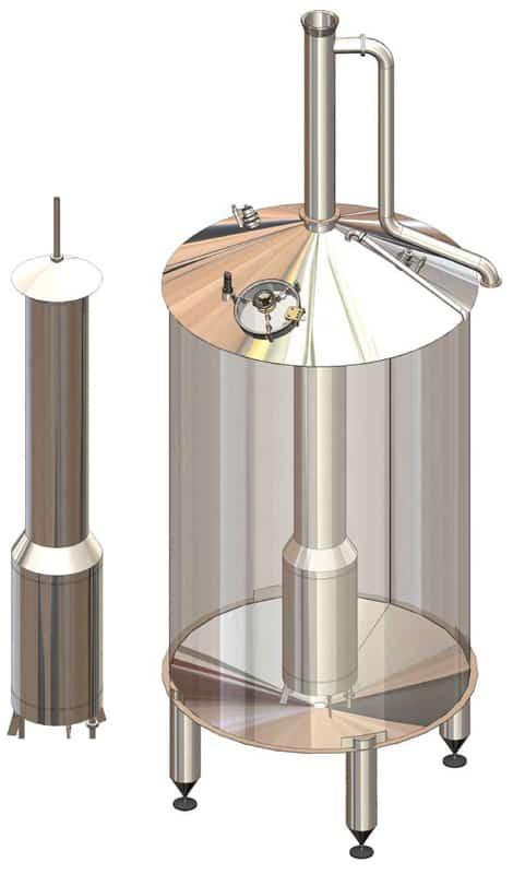 BH BWOP 6000 wort kettle 01 - BREWORX OPPIDUM 6000 : Wort brew machine - the brewhouse