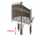 BH OPT ELS electric lift stirrer 150x150 - BREWORX QUADRANT 1000 : Wort brew machine - the brewhouse