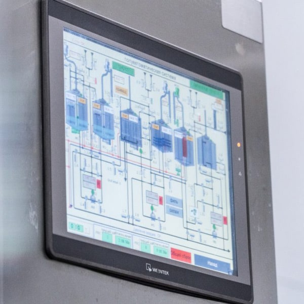 Automatic control system for the Oppidum brewhouse