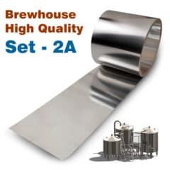 BHIS-2AHQ Σετ βελτίωσης υψηλής ποιότητας No2A για τα ζυθοποιεία