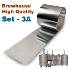 BHIS-3AHQ Høj kvalitet forbedrings sæt No3A til Oppidum brewhouses
