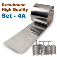 BHIS-4AHQ Høj kvalitet forbedrings sæt No4A til Oppidum brewhouses