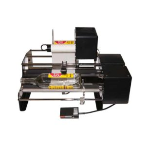 BLM-BM1202 Two-side semiautomatic bottle labelling machine