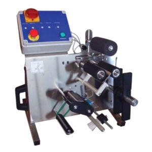 BLM-SA802 Dvoustranný poloautomatický stroj na značení lahví