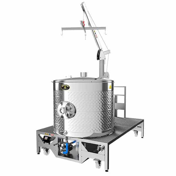 BREWMASTER BM-1000 Compact wort brew machine - the 1100L brewhouse