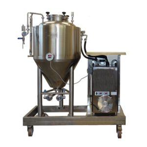 FUIC-CHP1C-1x100CCT Compact fermentation unit 1×100/127 liters