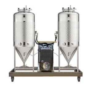 FUIC with non-insulated fermenters 1.2 bar