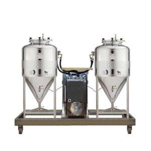 FUIC-SHP1C-2x100CCT Kompaktní fermentační jednotka 2 × 100 / 120 litrů 2.5bar
