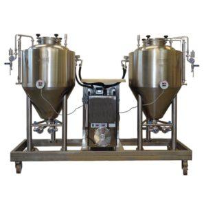FUIC-CHP1C-2x100CCT Compact fermentation unit 2×100/122 liters