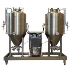 FUIC-CHP1C-2x500CCT Compact fermentation unit 2×500/600 liters