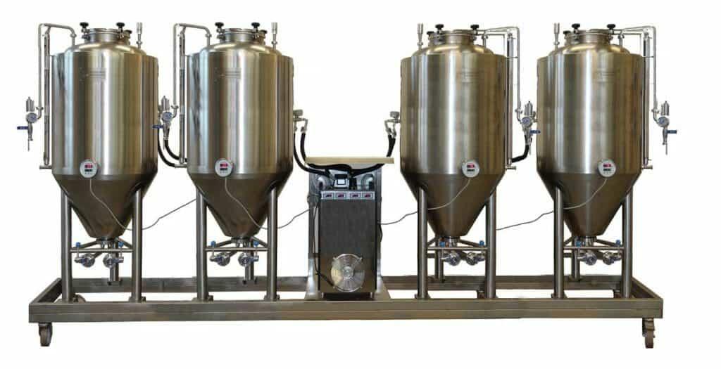 FUIC - Kompaktní fermentační jednotky s profesionálními fermentory CCT / CCF 3.0bar