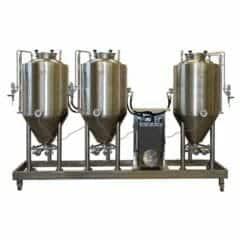FUIC-CHP1CMLT-3x300CCT Compact fermentation unit 3×300/360 liters