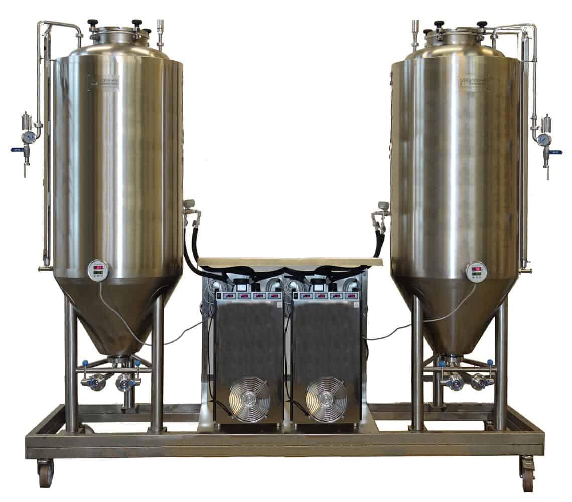 Fermentation and maturation unit FUIC-CHP2C-2x1500CCT