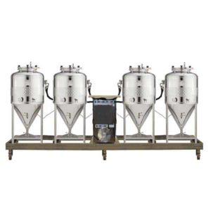 FUIC-SHP1C-4x100CCT Kompaktní fermentační jednotka 4 × 100 / 120 litrů 2.5bar