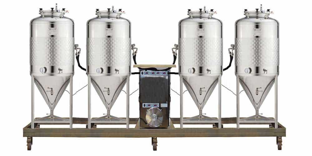 BWX FUIC SLP1C 4x500CCT 1000x500 - FUIC-SLP1C-4x200CCT Compact fermentation unit 4×200/240 liters 1.2 bar - cmuslp, mfuslp, cctmslp, fuicslp, hft