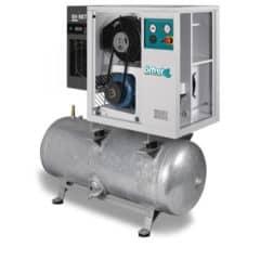 CAS-9600 komprimeret luftstation 9.6 m3 / time med filtrering og tørretumbler