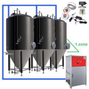 CBFSOT 1Z 03 Complete beer fermentation sets ontank 300x300 - CFS OT1Z : On-tank 1-zone