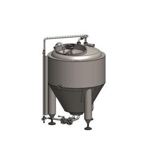 CCT-150C Cylindrokónický fermentační tank CLASSIC, izolovaný, 150 / 180L