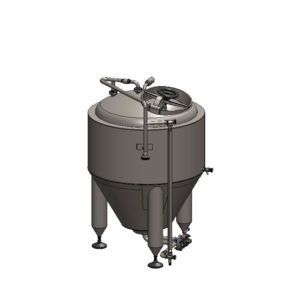 CCT-150C Cylindrically-conical fermentation tank CLASSIC, insulated, 150/180L