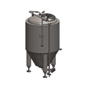 CCT-200C Cilindrisch-conische gistingstank CLASSIC, geïsoleerde, 200 / 240L