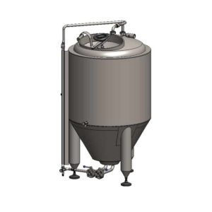 CCT-200C Cylindrically-conical fermentation tank CLASSIC, insulated, 200/240L