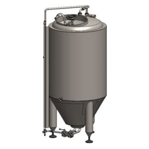CCT-250C Cylindrically-conical fermentation tank CLASSIC, insulated, 250/300L