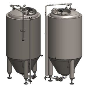 FET - Fermenters for primary fermentation