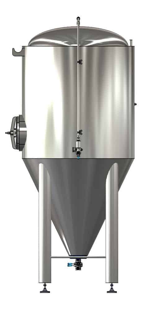 CCTM A1 002 1000x500 - CCTM-2000A1 Modular cylindrically-conical fermentation tank 2000/2400 L - a1, a1sets