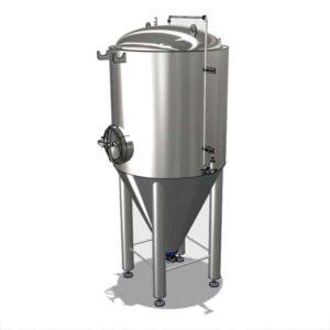 CCTM-500A1 modulinis cilindrinis kūginis fermentacijos bakas 500 / 600 L
