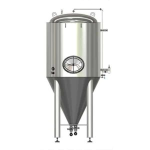 CCTM-500A2 Modular cylindrically-conical fermentation tank 500/600 L