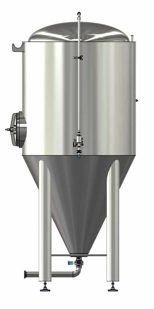 CCTM A2 002 1000x500 - CCTM-1200A2 Modular cylindrically-conical fermentation tank 1200/1473 L