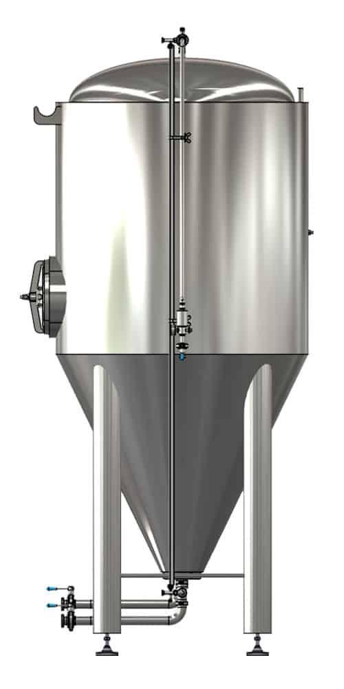 CCTM B1 002 1000x500 - CCTM-1200B1 Modular cylindrically-conical fermentation tank 1200/1473 L - b1, b1sets