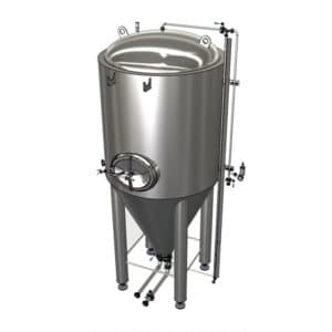 CCTM modular insulated cylindrically-conical tanks (fermenters)